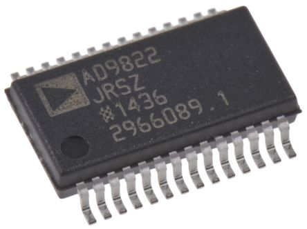 AD9822JRSZ, Analogue Front End IC, 3-Channel 14 bit, 15000ksps SPI, 28-Pin SSOP