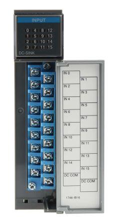 Allen dley SLC 500 PLC I/O Module 16 Inputs, 24 V dc on