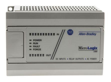 Allen Bradley 1761 PLC I/O Module 10 Inputs, 6 Outputs 1 5 (Break) A, 15  (Make) A, 80 x 120 x 73 mm