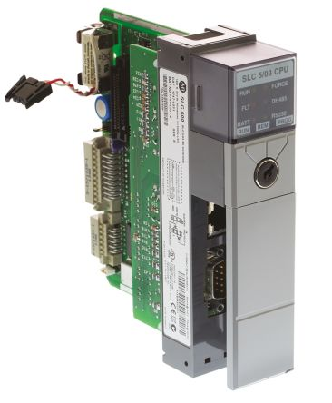 1747 l531 allen bradley slc 500 plc cpu computer interface 4000 rh uk rs online com