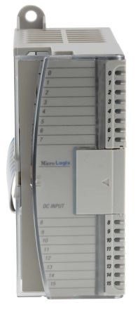 Allen dley, diverse MicroLogix Series PLC I/O Module 16 Inputs, 2 → on
