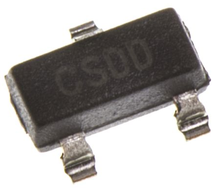 Microchip MCP1700T-3302E/TT, LDO Regulator, 250mA, 3.3 V, ±2%, 2.3 → 6 Vin 3-Pin, SOT-23