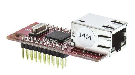 WIZnet Inc WIZ811MJ Networking Module, 10/100 Base-TX