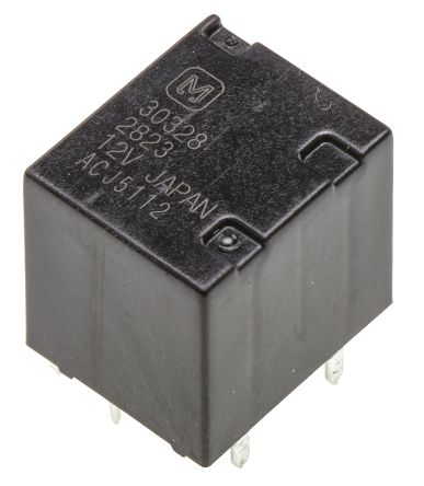 1A Ultra-Miniature PCB Relays 12V Coil
