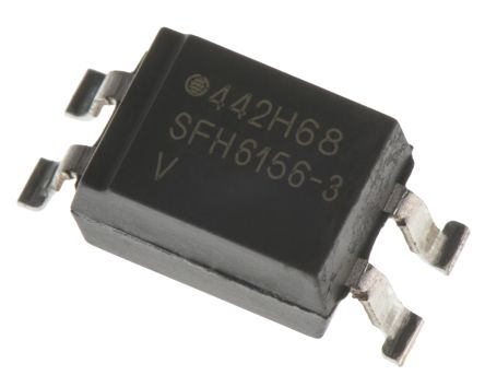 Vishay, SFH6156-3T DC Input Transistor Output Optocoupler, Surface Mount, 4-Pin SMD