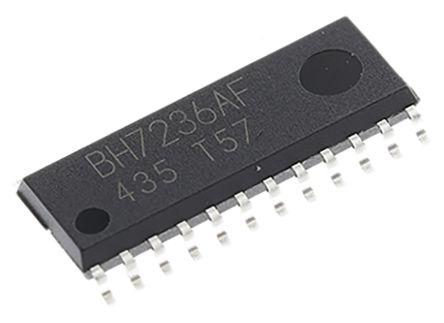 BH7236AF-E2, Video Encoder NTSC, PAL 5 V, 24-Pin SOP