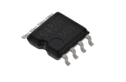 BU9480F-E2, Audio Converter DAC Dual 16 bit-, 200ksps Serial, 8-Pin SOP