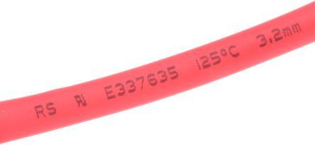 Gaine Thermorétractable 2:1 1 mm Diam 1 à 10m #003 Rouge