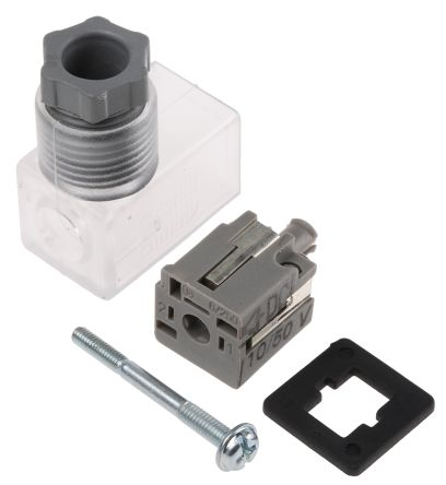 SMC Pneumatic Solenoid Coil Connector, Lead/DIN Connector