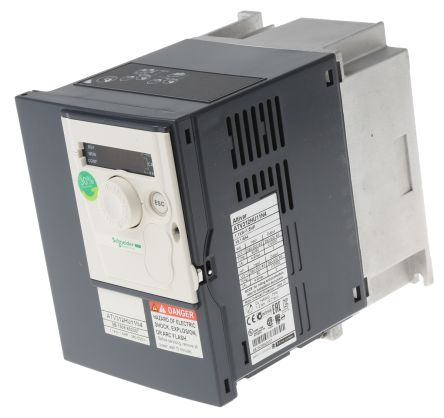 Schneider Electric Inverter Drive, 3-Phase In, 0 5 → 500Hz Out 1 1 kW, 400  V with EMC Filter, 4 9 A ALTIVAR 312