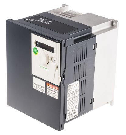 Schneider Electric Inverter Drive, 3-Phase In, 0 5 → 500Hz Out 3 kW, 400 V  with EMC Filter, 10 9 A ALTIVAR 312