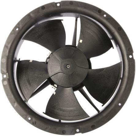 ebm-papst, 230 V ac, AC Axial Fan, 200 x 78.5mm, 500m³/h, 11W
