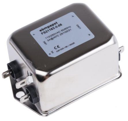 Harmonic Filter, 920-CON0085, Flange Mount, Tab, 85 x 54 x 40.3mm