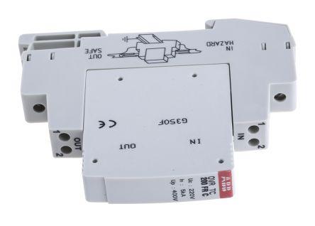 Industrial Surge Protector, 10kA, 200 V, DIN Rail Mount