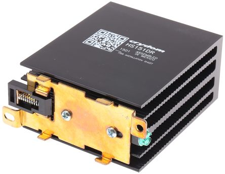 DIN Rail Solid State Relay Heatsink for use with Crydom SSR
