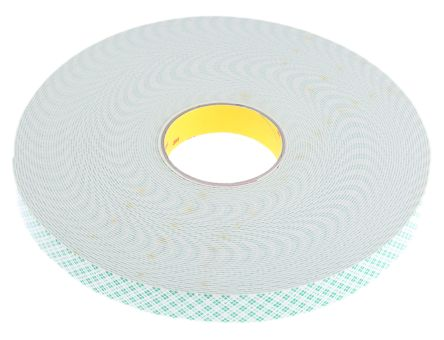 3M 3M 4026 White Foam Tape, 1 6mm Thick , 25mm x 33m | 3M | RS Components  Cyprus