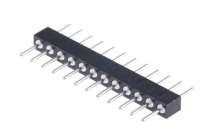 2mm 12 Way 1 Row Straight Through Hole Male PCB Header Pin product photo