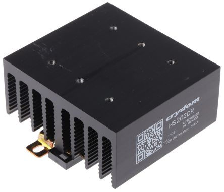 Dual Heatsink for DIN Mount 2.0 deg