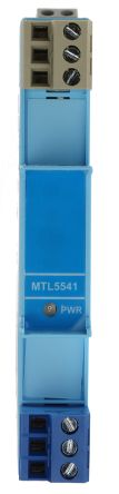 MTL 1 Channel Isolation Barrier With Repeater Power Supply, 28 V max, 93mA max