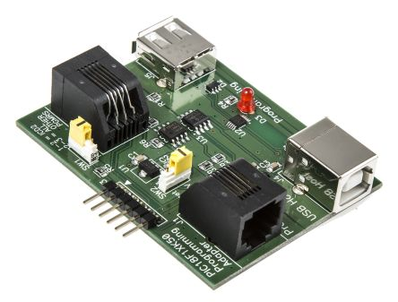 AC164114, Chip Programming Adapter for PIC18F1xK50 Microcontrollers