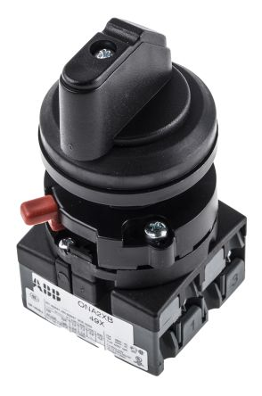 2 positions 90° Rotary Switch, 600 V, 25 A, Handle