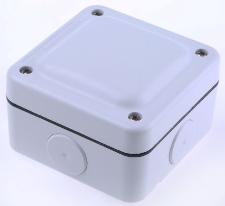 MK Electric Junction Box, IP66, 95mm x 95mm x 65mm on