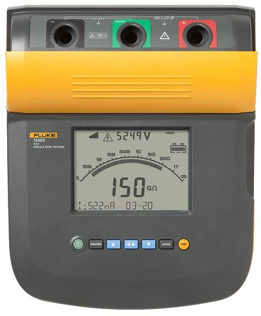 Fluke 1550C, Insulation Tester 1TΩ CAT III 1000 V, CAT IV 600 V