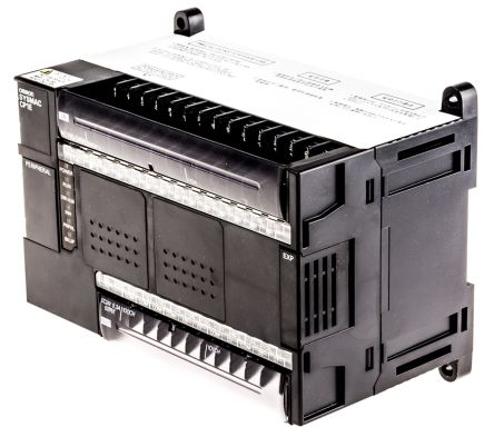 Omron CP1E PLC CPU Computer Interface, 8 kB Program Capacity, 24 Inputs, 16  (Relay) Outputs, 85 → 264 V ac