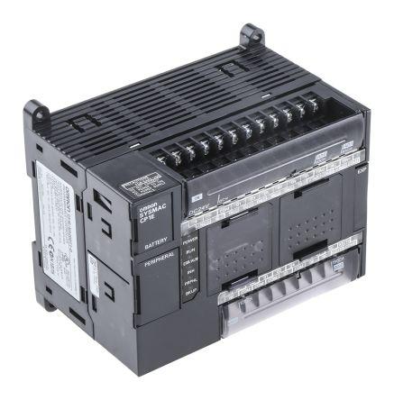Omron CP1E PLC CPU, USB Networking Computer Interface, 32 kB Program  Capacity, 12 (Analogue) Inputs, 8 (Transistor)