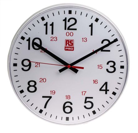 White Wall Clock, 300mm product photo