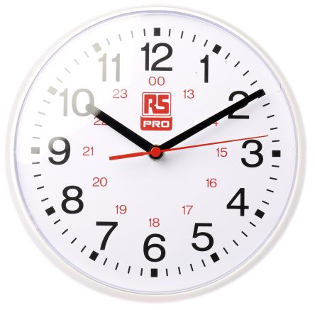 White Wall Clock, 215mm product photo