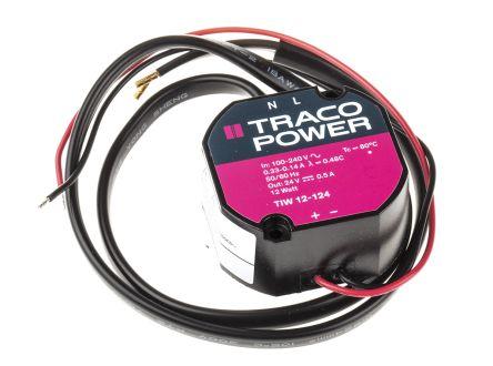 TIW 12-124 TRACOPOWER | TRACOPOWER 12W Embedded Switch Mode Power ...