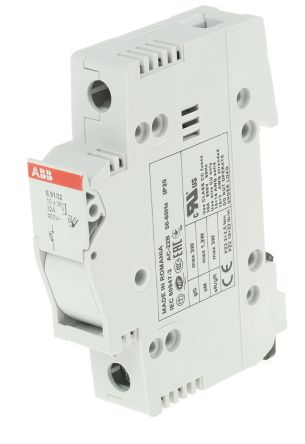 32 A SP Fused Isolator Switch, 10 x 38 mm Fuse Size