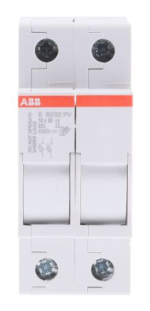32 A DP Fused Isolator Switch, 10 x 38 mm Fuse Size