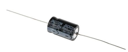 10V dc 22mm 2000h 5 x RS Pro Aluminium Electrolytic Capacitor 6800uF