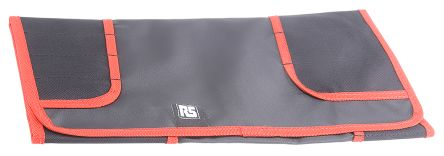 RS PRO Black Polyester Tool Roll, 580mm x 380mm