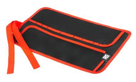 RS PRO Black Nylon Tool Roll, 380mm x 200mm