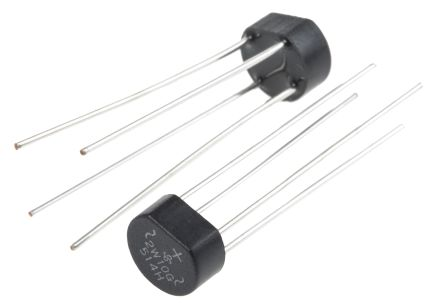 2W10G-E4/51, Bridge Rectifier, 2A 1000V, 4-Pin WOG product photo