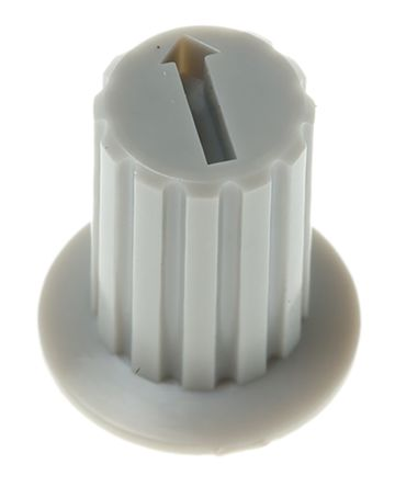 Grey Rotary Switch Cap for use with DRR Series, DRS Series