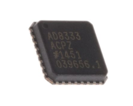AD8333ACPZ-WP, Demodulator Quadrature 4.7dB 32-Pin LFCSP