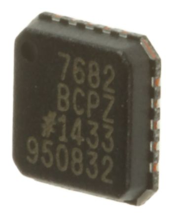 Analog Devices AD7682BCPZ, 16-Bit Serial ADC Differential, Pseudo Differential, Single Ended Input, 20-Pin LFCSP