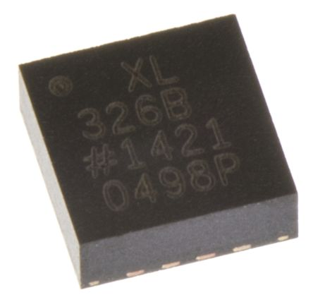 Analog Devices ADXL326BCPZ, 3-Axis Accelerometer, LFCSP 16-Pin