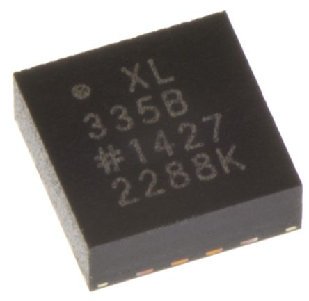 Analog Devices ADXL335BCPZ, 3-Axis Accelerometer, 16-Pin LFCSP