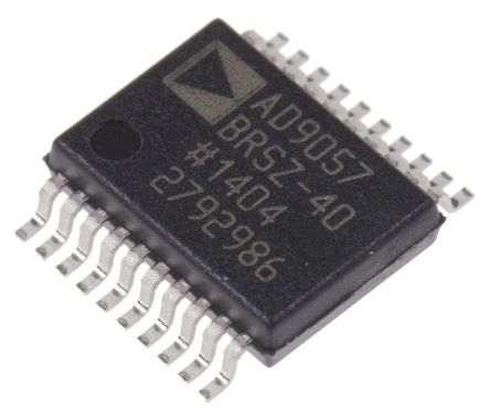 Analog Devices AD9057BRSZ-40, 8 bit Video Encoder ADC 40Msps Parallel 5 V, 20-Pin SSOP
