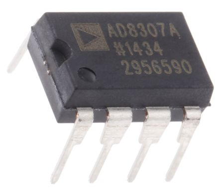 Analog Devices AD8307ANZ, Log Amplifier, 3 V, 5 V Rail to Rail Output Rail to Rail, 8-Pin PDIP