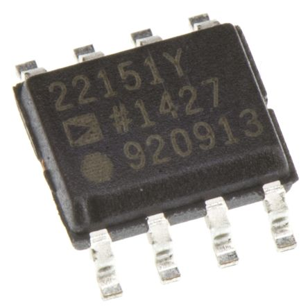 Analog Devices AD22151YRZ, Linear Hall Effect Sensor, 8-Pin SOIC