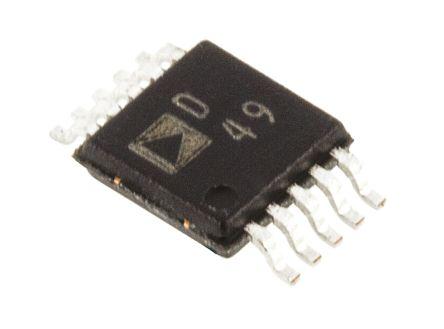 AD5063BRMZ, 16 bit Serial DAC, 333ksps, 10-Pin MSOP product photo