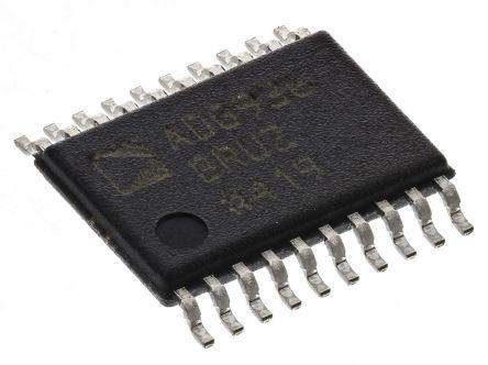 Analog Devices ADG936BRUZ, SPDT RF Switch 2GHz Dual SPDT 31dB Isolation CMOS/LVTTL 1.65 → 2.75 V 20-Pin TSSOP