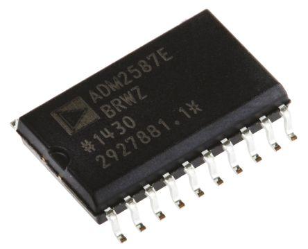 Analog Devices ADM2587EBRWZ, Line Transceiver, 3.3 V, 5 V, 20-Pin SOIC W