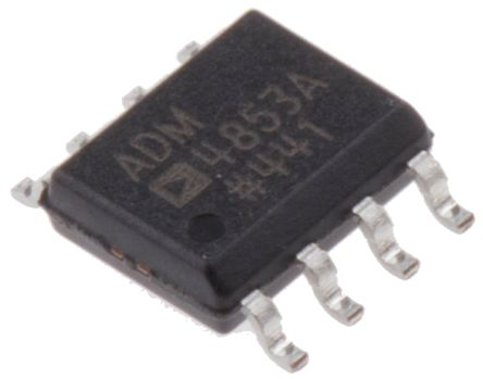 Analog Devices ADM4853ARZ, Line Transceiver, RS-422, RS-485, 5 V, 8-Pin SOIC